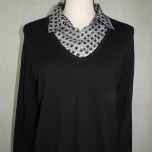 Style & Co Long Sleeve Top Plus Size 1X 2X 3X NWT